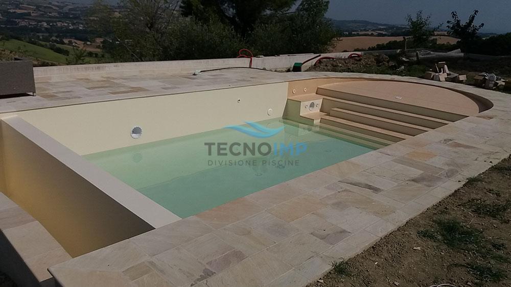 Rivestimento pvc piscina - alkorplan touch relax