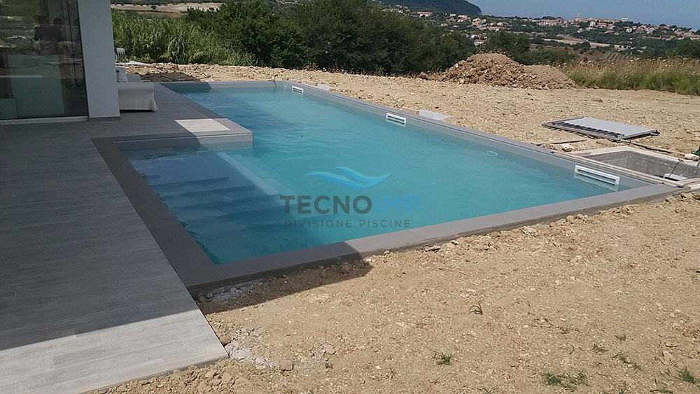 Rivestimento pvc piscina - cliente Idratec