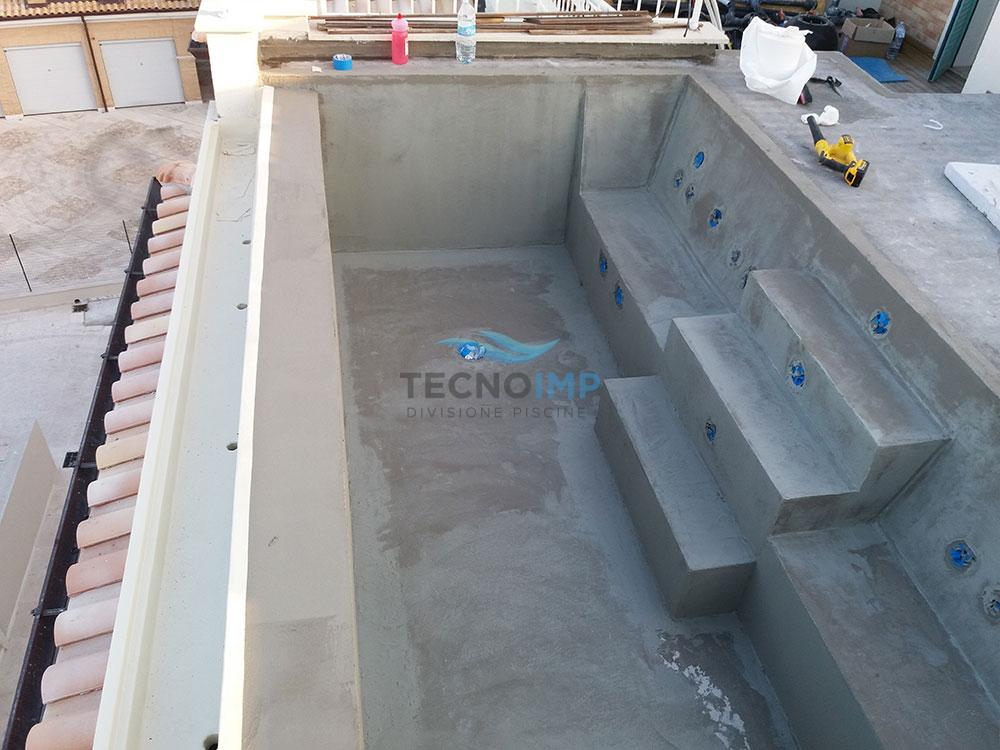 Sanificazione piscina - cliente Ciampini srl